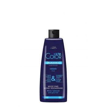 Joanna Ultra Color System Płukanka do włosów niebieska  150ml