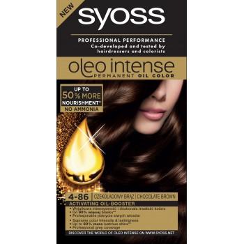 Schwarzkopf Syoss Farba do włosów Oleo 4-86 czekoladowy brąz