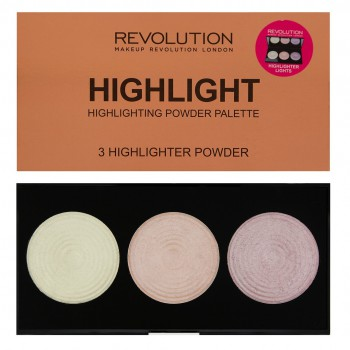 Makeup Revolution Highlighter Palette Rozświetlacze Highlight  15g