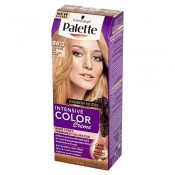 Palette Intensive Color Creme Krem koloryzujący nr BW12-jasny blond nude 1op.