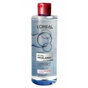 Loreal Skin Expert Płyn micelarny - cera sucha i wrażliwa  400ml