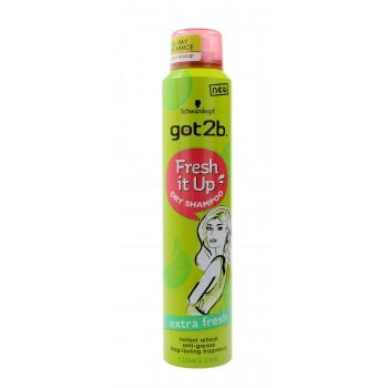 Schwarzkopf Got 2b Fresh It Up Suchy szampon do włosów EXTRA FRESH  200ml