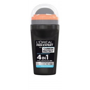 Loreal Men Expert Dezodorant roll-on Carbon Protect 4w1  50ml