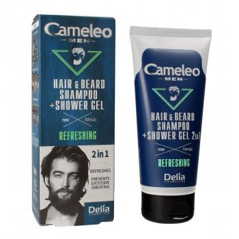 Delia Cosmetics Cameleo Men Szampon i żel pod prysznic 2w1 Refreshing  150ml