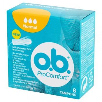 O.B.ProComfort Normal komfortowe tampony  1op.-8szt