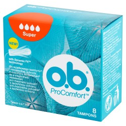 O.B.ProComfort Super komfortowe tampony  1op.-8szt