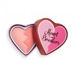 I Heart Revolution Heartbreakers Matte Blush Róż matowy do twarzy Brave 10g