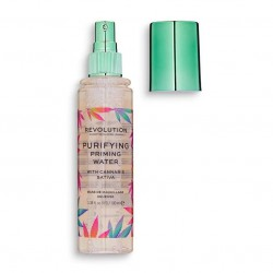 Makeup Revolution Baza pod makijaż w spray'u Priming Water W Cannabis Sativa