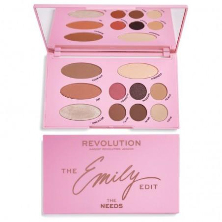 Makeup Revolution The Emily Edit Paleta do makijażu The Needs  1szt