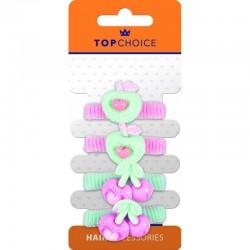 Top Choice Frotki do włosów (22913)  1op.-4szt