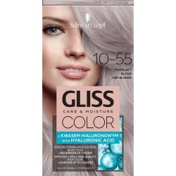 Schwarzkopf Gliss Color Krem koloryzujący nr 10-55 Popielaty Blond 1op.