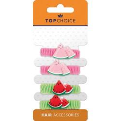 Top Choice Frotki do włosów (22975)  1op.-4szt
