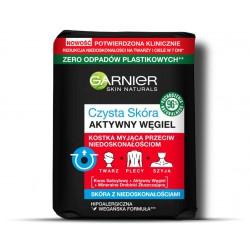 Garnier Skin Naturals Czysta Skóra Aktywny Węgiel Kostka myjąca przeciw niedoskonałościom  100g