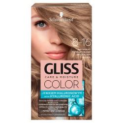Schwarzkopf  Gliss Color Krem koloryzujący nr 8-16 Naturalny Popielaty Blond  1op.