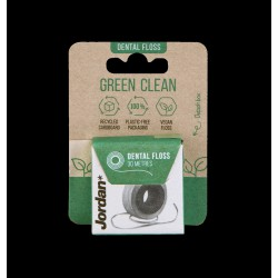 Jordan Green Clean Nić dentystyczna w rolce  1szt-30m