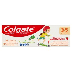 Colgate Pasta do zębów dla dzieci Naturalnie owocowy smak (3-5 lat)  50ml