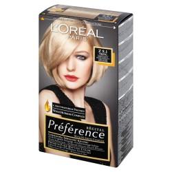Loreal Farba Recital Preference Z 9.1 Bardzo Jasny Blond Popielaty