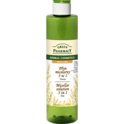 Green Pharmacy Płyn micelarny 3w1 z ekstraktem z owsa  250ml