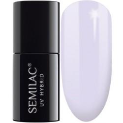 SEMILAC Lakier hybrydowy 127 Violet Cream - 7 ml
