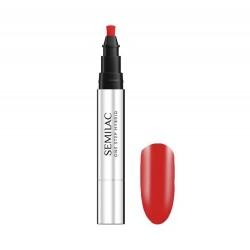SEMILAC One Step Marker do paznokci S530 Scarlet  3ml