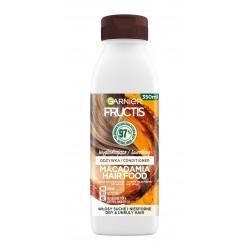 Fructis Hair Food Macadamia Odżywka wygładzająca do włosów suchych i niesfornych 350ml