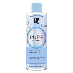 AA Pure Derma Normalizująca Woda micelarna - cera normalna,mieszana,wrażliwa 400ml