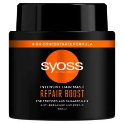 Schwarzkopf Syoss Repair Therapy Maska do włosów odbudowująca 500ml