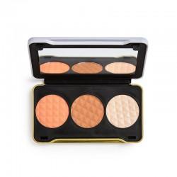 Makeup Revolution X Patricia Bright Zestaw do konturowania twarzy Moonlight Glow  1szt