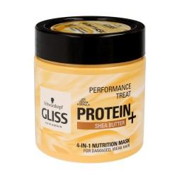 Gliss Hair Repair Protein+ Maska do włosów 4in1 odżywcza Shea Butter 400ml