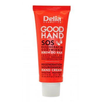 Delia Cosmetics Good Hand S.O.S Krem do rąk Regeneracja i Odżywienie  75ml