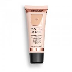 Makeup Revolution Podkład matujący do twarzy Matte Base Foundation F7  28 ml