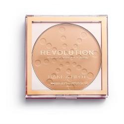 Makeup Revolution Bake & Blot Puder prasowany Beige 5.5g