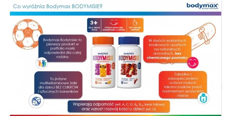 BODYMAXBODYMISIE  - żelki witaminowe - produkt dla całej rodziny!